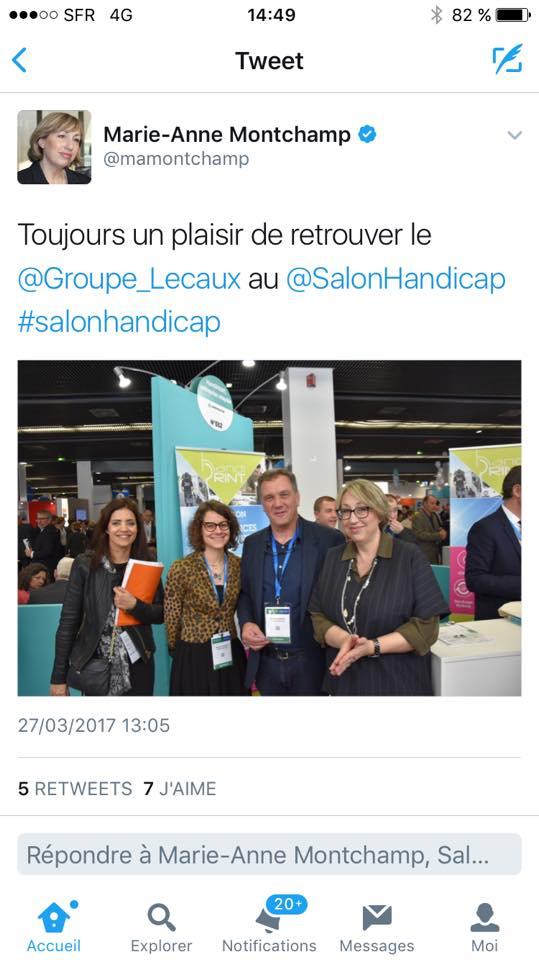 2 dition du salon emploi handicap achats responsables for Salon handicap 2017